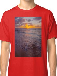 North Shore Sunset Classic T-Shirt