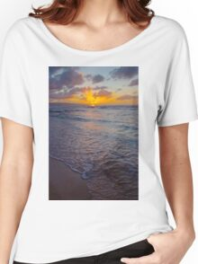 North Shore Sunset Women's Relaxed Fit T-Shirt