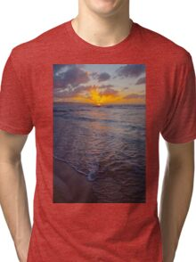 North Shore Sunset Tri-blend T-Shirt