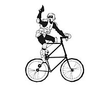 The Scout Trooper Tall Bike Design Photographic Print