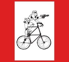 The Stormtrooper Tall Bike Kids Tee