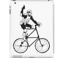 The Scout Trooper Tall Bike Design iPad Case/Skin