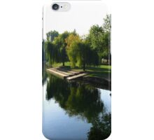 Reflections - River Charente, Jarnac iPhone Case/Skin