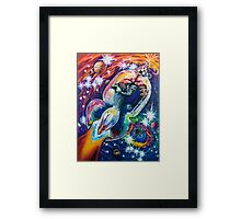 Squeezing Tinman 12 Framed Print