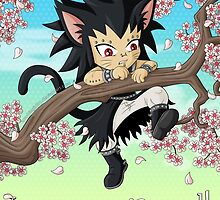 Hang in there Gajeel by zombiegirl01