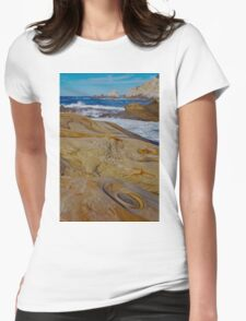 A Rocky Coast Womens Fitted T-Shirt