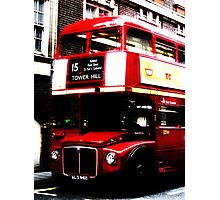 London bus. Photographic Print