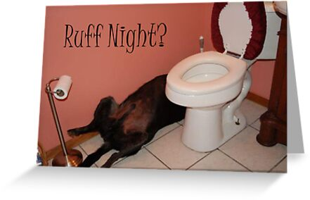 Ruff Night? by 4getsundaydrvs