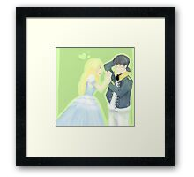 Lieutenant and Duckling Framed Print