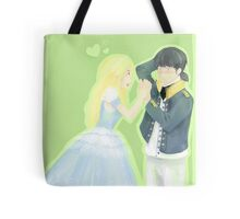 Lieutenant and Duckling Tote Bag