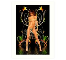 The Goddess .. Temptation Art Print