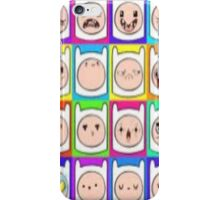 Many Faces of FINN iPhone Case/Skin