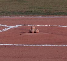 home plate waiting. . .for the first pitch by donna.k. nolan