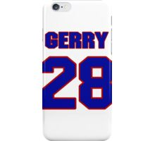 National Hockey player Gerry Rioux jersey 28 iPhone Case/Skin