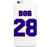 National Hockey player Bob Sauve jersey 28 iPhone Case/Skin