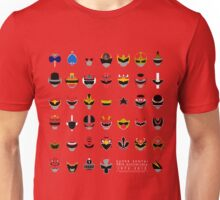 Super Sentai 40th Anniversary 1975-2015 Unisex T-Shirt