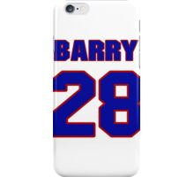 National Hockey player Barry Smith jersey 28 iPhone Case/Skin