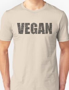 Vegan Love Unisex T-Shirt