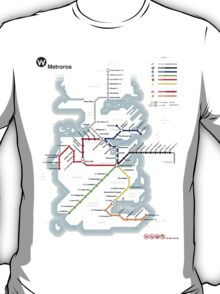Game of Thrones - Metroros System Map T-Shirt