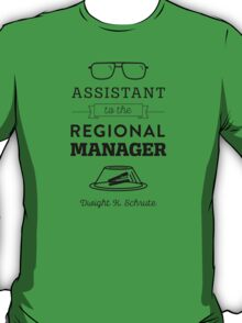 The Office Dunder Mifflin - Assistant to the Regional Manager T-Shirt
