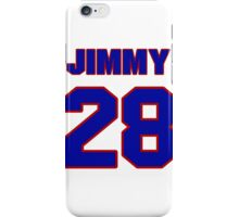 National Hockey player Jimmy Waite jersey 28 iPhone Case/Skin