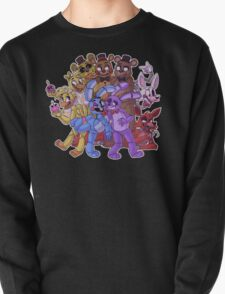 FNAF- The Gang's All Here Pullover