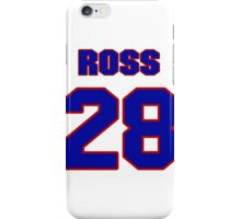 National Hockey player Ross Yates jersey 28 iPhone Case/Skin