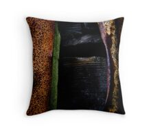 The Colour of Decay Throw Pillow