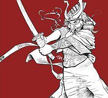 The Geisha who would be a Samurai by grosvenordesign
