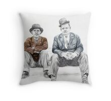 'Hats On' Throw Pillow
