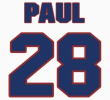 National Hockey player Paul Guay jersey 28 by imsport