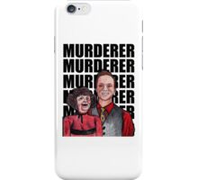 "Chester the ""Chameleon Salesman"" and Marjorie iPhone Case/Skin"