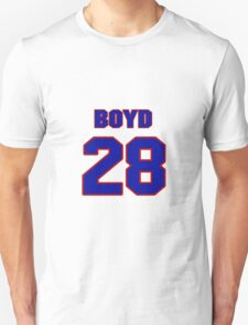 National Hockey player Boyd Kane jersey 28 T-Shirt