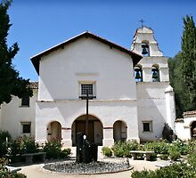 Mission San Juan Bautista by Margaret Smith