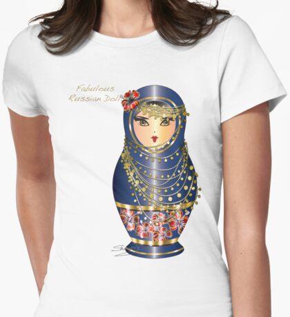 Fabulous Russian Dolls Womens Fitted T-Shirt