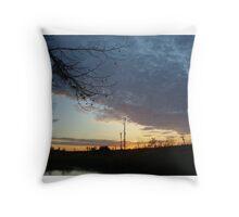 Sunset Extravaganza Throw Pillow
