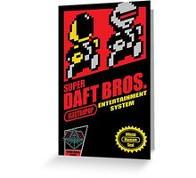 Super Daft Bros. Greeting Card