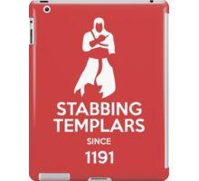 Stabbing Templars Since 1191, Assassin's Creed iPad Case/Skin