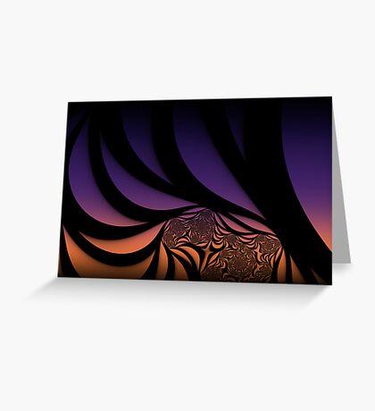 Minimalist Sunset Greeting Card