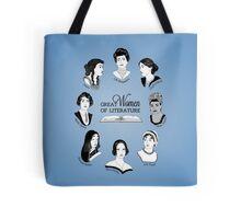 Great Women of Literature Tote Bag