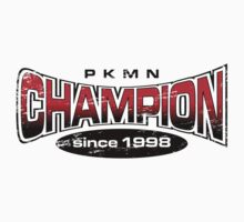 Pokemon Champion_Red Kids Clothes