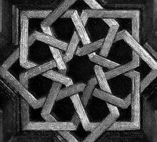 Iraqi Bazaar Tile Sticker