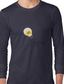Runaway Idea lightbulb hand T-Shirt