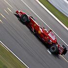 Kimi Raikkonen - Silverstone 2008 by Tom Allen