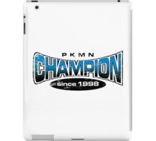Pokemon Champion_Blue iPad Case/Skin