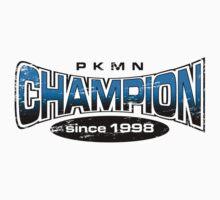 Pokemon Champion_Blue Kids Clothes