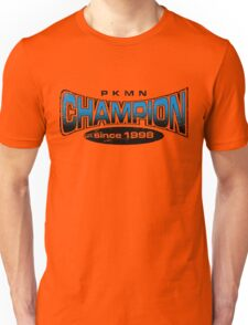 Pokemon Champion_Blue Unisex T-Shirt