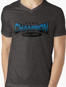 Pokemon Champion_Blue Mens V-Neck T-Shirt