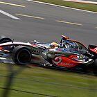 Lewis Hamilton - Silverstone 2008 II by Tom Allen