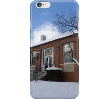 New Concord Post Office in Winter iPhone Case/Skin